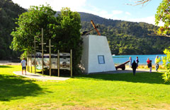 Marlborough Sounds scenic cruise