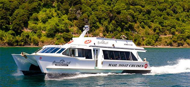 10% off Mail Boat Cruise